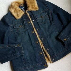 Fabulous jean jacket . EUC.